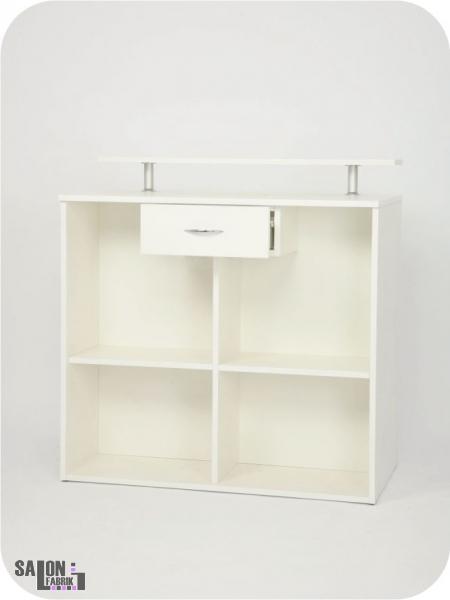 empfangstheke elegance weiss salonfabrik. Black Bedroom Furniture Sets. Home Design Ideas