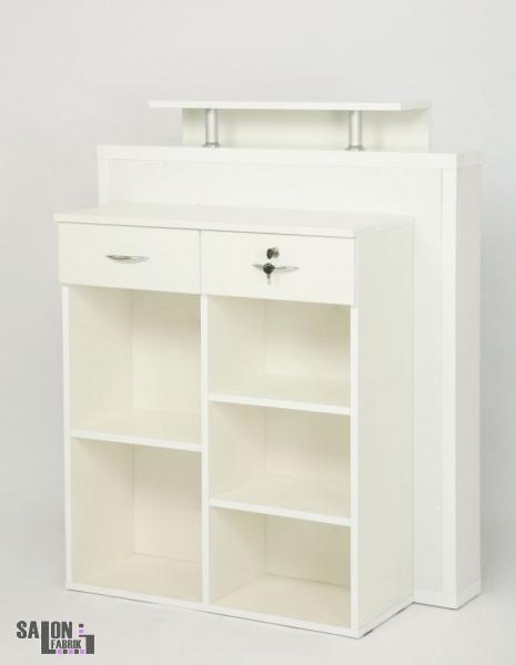 empfangstheke luxury weiss led salonfabrik. Black Bedroom Furniture Sets. Home Design Ideas